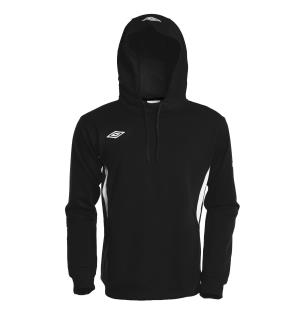UMBRO Vision Hood Top jr Sort/Hvit 152 Behagelig teknisk hettegenser - barn